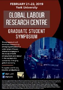 International Graduate Student Symposium 2019 @ York University | Toronto | Ontario | Canada