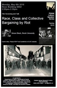 Race, Class, and Collective Bargaining by Riot @ Ross South, room 802